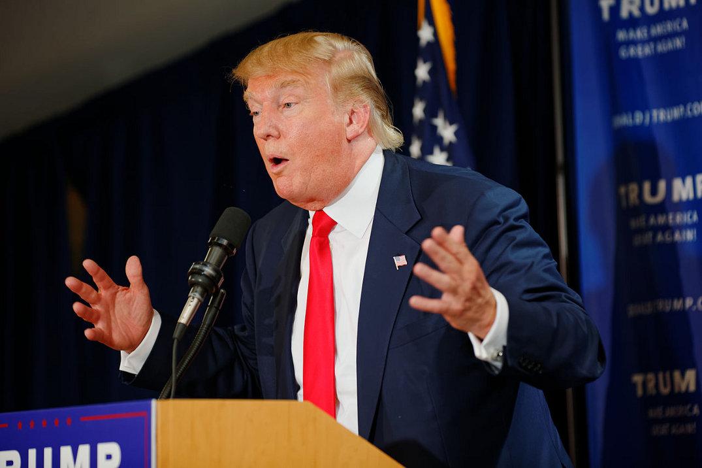Donald Trump. Photo by Michael Vadon.