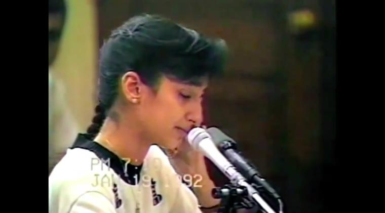 Nayirah Tearful Iraq Incubator False Testimony 1992